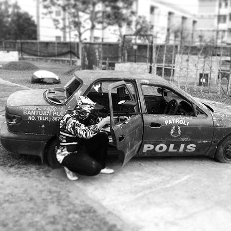 Paintball Police Warzone