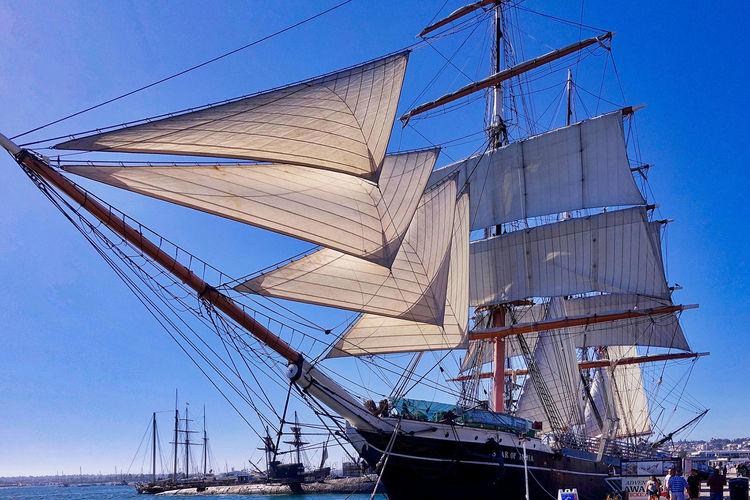 The sail ship