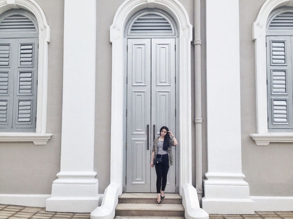 Self Portrait Vintage Architecture Photography Hanging Out Singapore Portrait Meinframe Fineday Strolling
