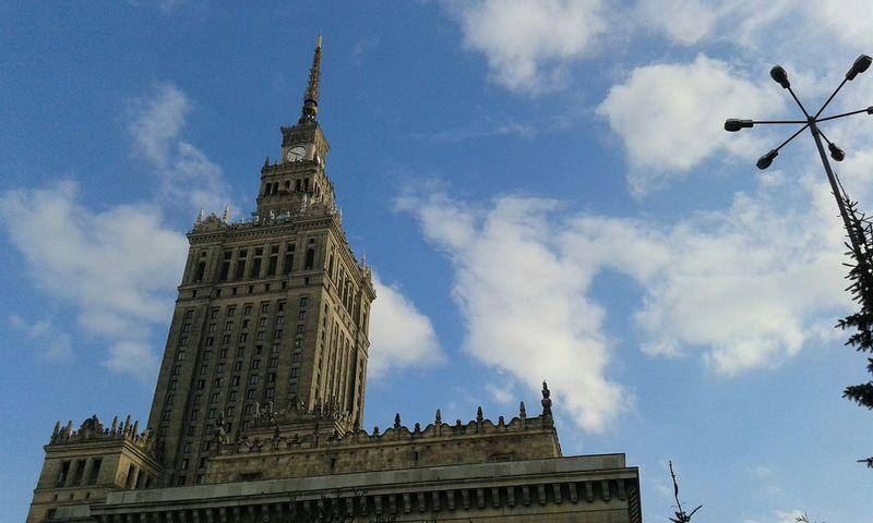 Warsaw Sky Nofilter Taking Photos Phonecamera Palackultury