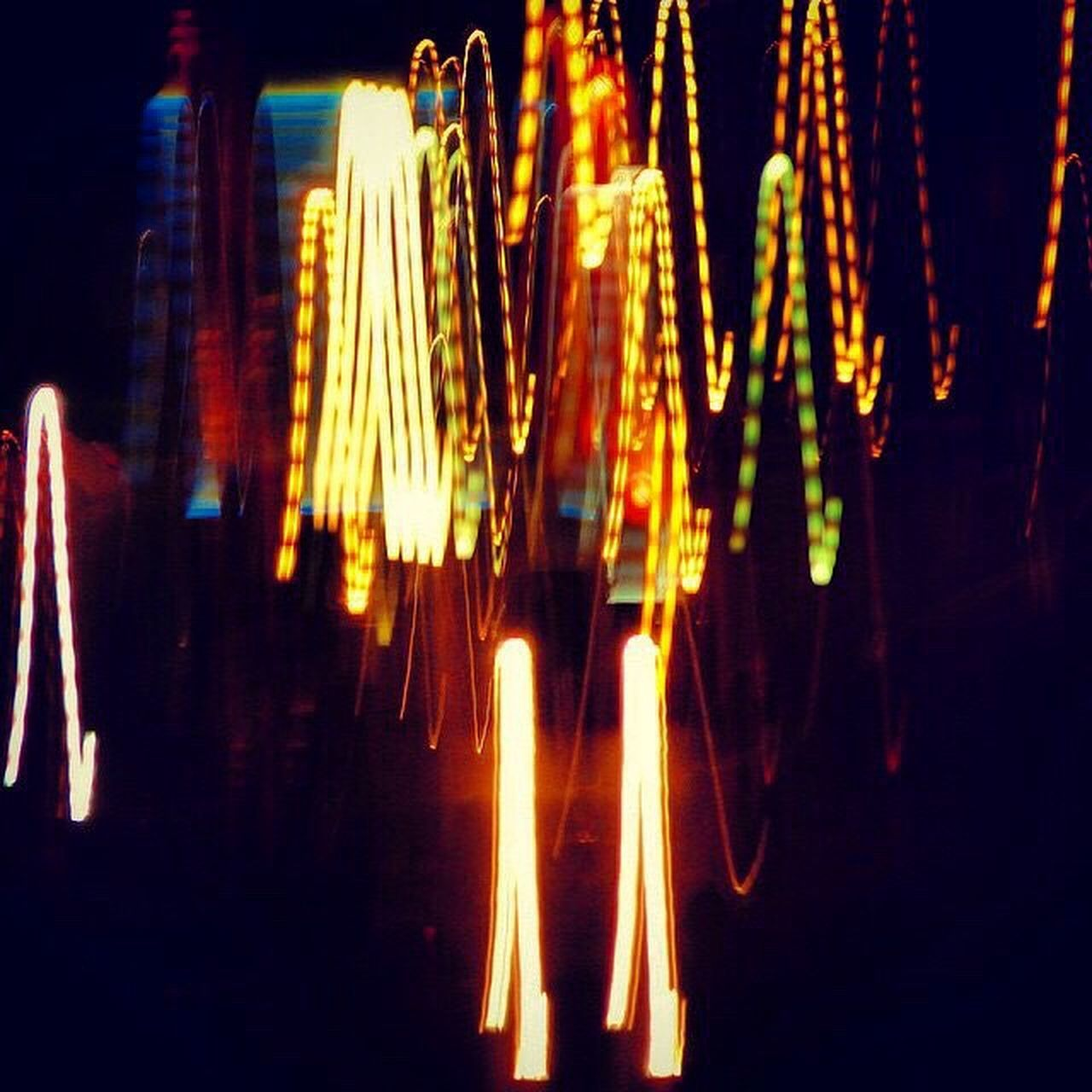 illuminated, night, no people, outdoors, close-up