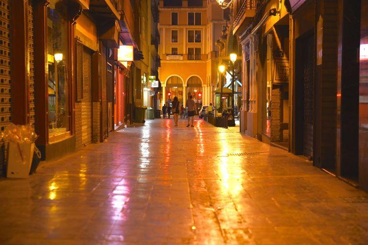 Night Lights Night Photography Nightphotography Architecture City City By Night Illuminated Night Night Colors