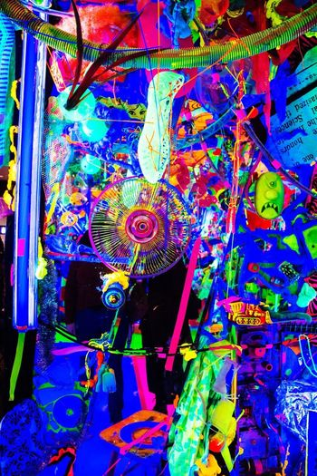 Bright Bright Colors Abstract Museum Of Modern Art Moma Neon Multi Colored Art And Craft Creativity Colorful No People Architecture Indoors  AI Now