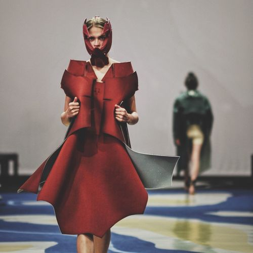 The woman in red Fashion Style Model EyeEm Best Shots EyeEm Best Edits VSCO Vscocam Itscontest Colors Red Beautiful