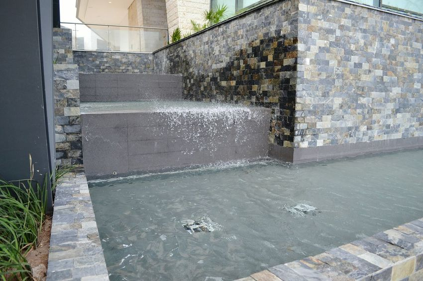 Water Waterfall Architecture Stopping Time