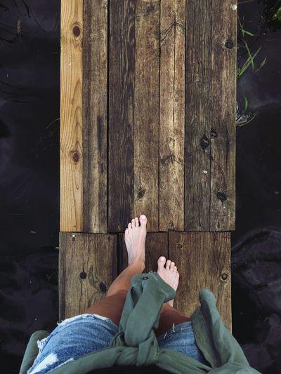 feet, tree, summer Feet Selfie Feetselfie Water Reflection Water River Summer Exploratorium Summertime Summer Views Wooden Texture Wood - Material Summer