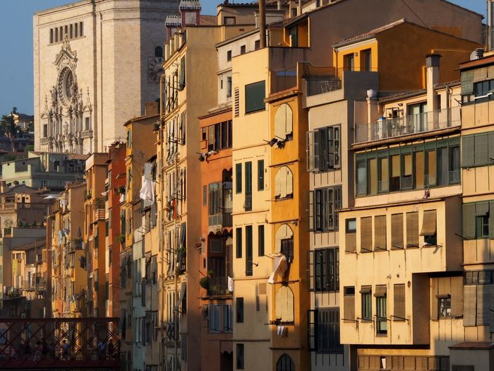 Girona Building Exterior Architecture Built Structure Building Residential District City Window Day No People Sunlight Outdoors