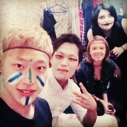 한국사람 친구 Halloween Preparty havingfun stupidfaces ^^