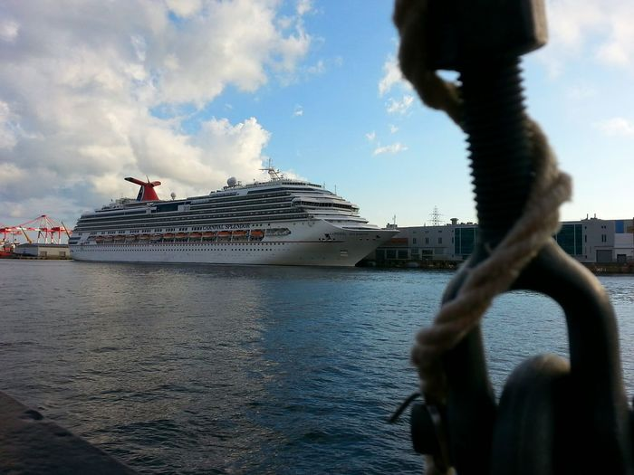 Think they'd notice a stowaway? Going Sailing Harbour Cruise Cruise Ship Halifax Seaport My City Halifax On A Boat Enjoying Life Taking Photos