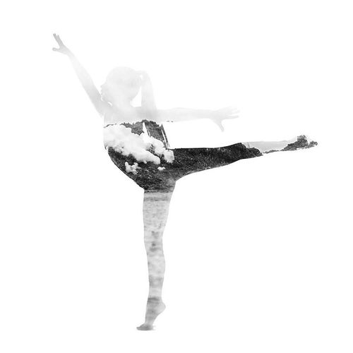 2 i 1 Dance Dance Photography Double Exposure