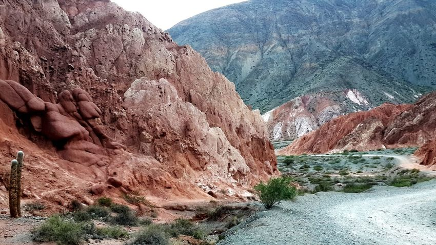 Nature Physical Geography Beauty In Nature Mountain No People Colours Of Nature Purmamarca Jujuy, Argentina Norte Argentino Landscape Beauty In Nature Nature Reserve Extreme Terrain