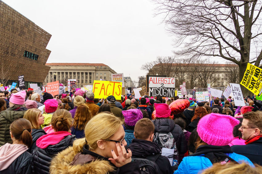 Activism America Anti Day Democracy Demonstration Feel The Bern Fight Protest Revolution Sign Trump USA Washington Washington, D. C. We The People Women Women March Women March On Washington Women's March Press For Progress