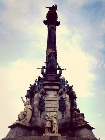 Barcelona España Holiday Monuments