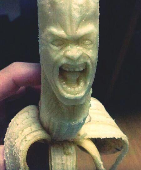 Bananas Ugly Face Dangerous Eyembestshots Eyemselfie Goodmorning Followme