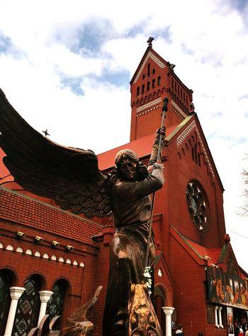 Minsk Kostel Belarus