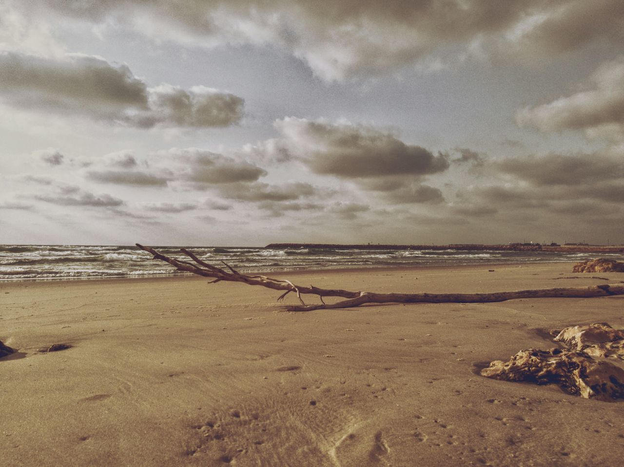 nature, sky, tranquility, beach, scenics, beauty in nature, cloud - sky, sea, tranquil scene, outdoors, water, no people, day, sand, landscape, horizon over water