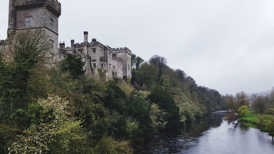 Castles Lismore Castle Co Waterford River View Trees No People Eerie Beautiful Landscape Outdoors Water Reflections