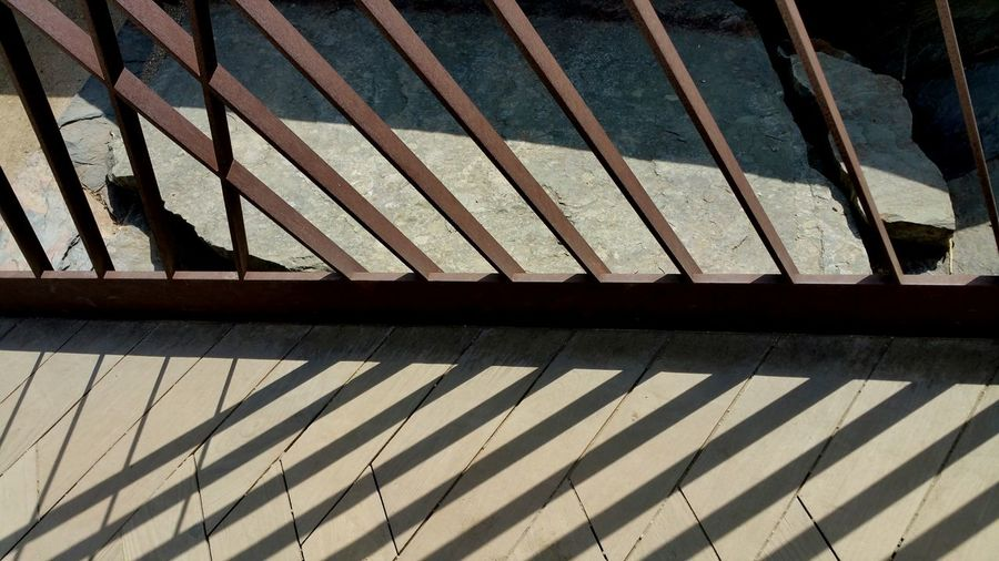 Learn & Shoot: Balancing Elements Rail And Shadow Shadow Light And Shadow Diagonal Lines Angles Check This Out Interesting Perspectives Nature Shadows Design Pattern, Texture, Shape And Form Pattern Pieces Patterns In Nature Pattern Outside Photography Outdoor Photography