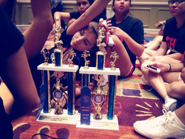 Trophies!!!!! Cheer Trophies 1st Place Most Spirited
