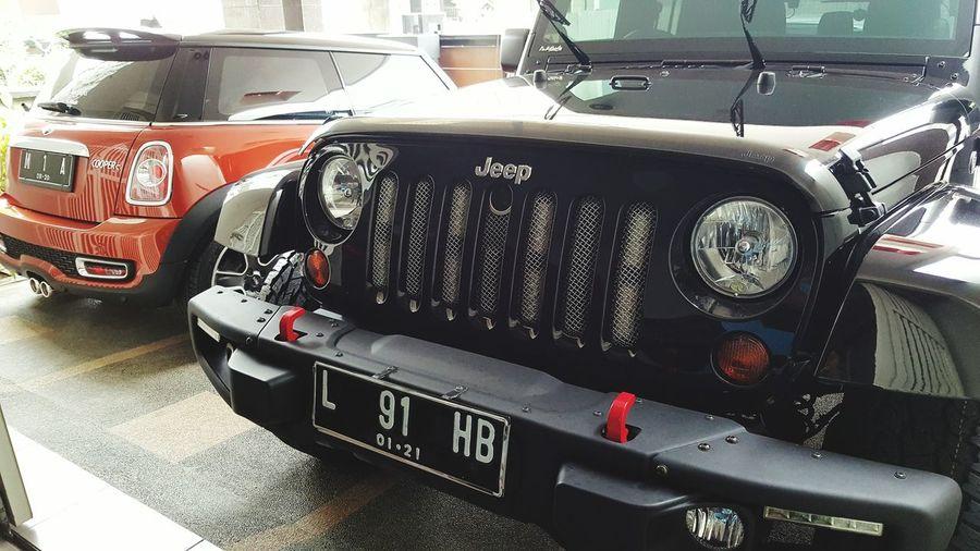 Jeep Sahara Mini Cooper S