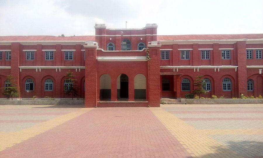 Old St. Xavier College.... Red Architecture No People Collage EyeEm Best Shots Eyeem Gallary St. Xavier College