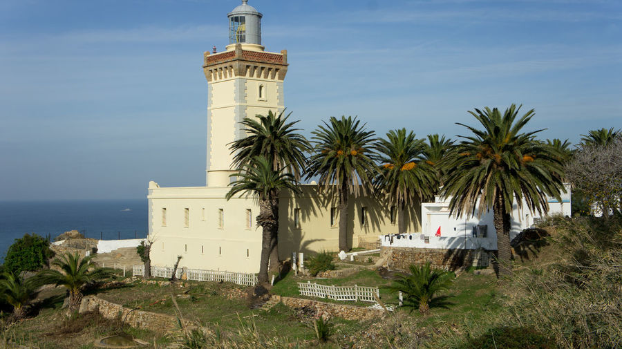 View of lighthouse against the sky
