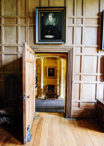EyeEm Selects Architecture Door Built Structure No People Travel Destinations Doorway Building Exterior Indoors  Day The Week On EyeEm Portraits Paintings National Trust Heritage Montacute House Wide Angle