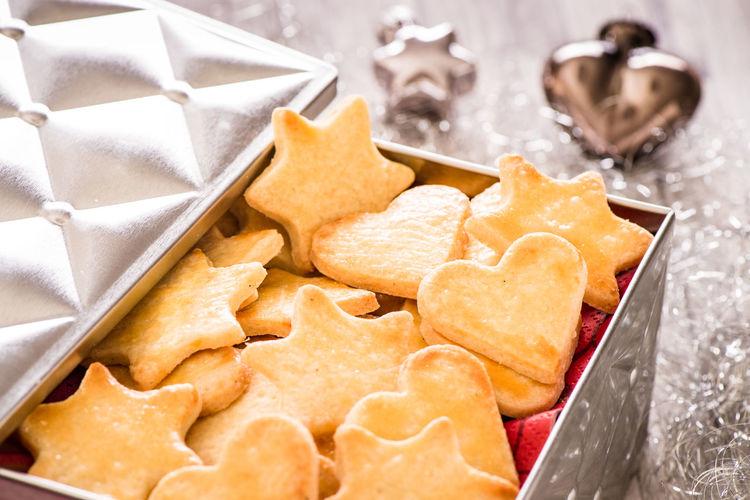 Buttergebäck Advent Christmas Cookie Cookies Food Fresh Homemade Homemade Shortbread
