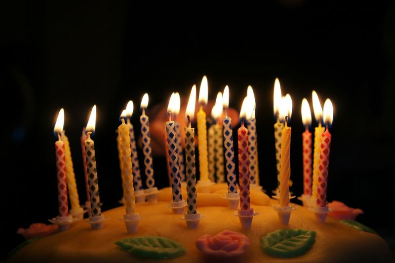 Geburtstagstorte Happy Birthday Nice Moment Candles My Smartphone Life Moments