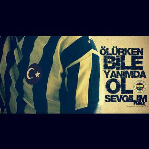 Fenerbahce  Aşk First Eyeem Photo