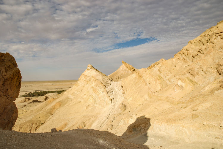 Tunis Sky Scenics - Nature Cloud - Sky Tranquil Scene Beauty In Nature Tranquility Landscape Non-urban Scene Environment Nature Land No People Day Desert Mountain Rock Remote Sunlight Climate Arid Climate Outdoors Salt Flat Eroded Rosafrancomendoza Tunisia
