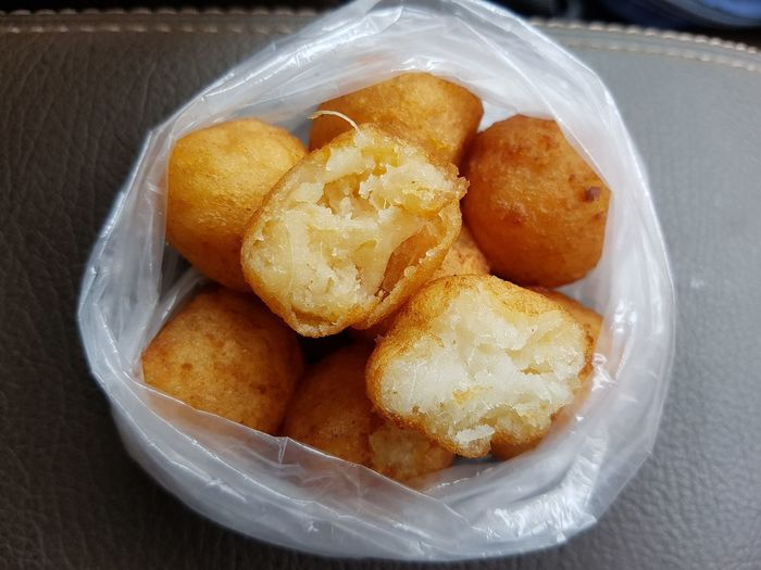 Tasty and cheap snack!!🤗 Tapioca Sweetpotato Fried Food Delicious