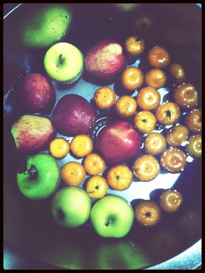 Fruits At Home Apple Mandarine