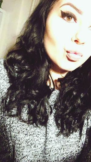 Long Hair Curly Hair BlackHair♠♣ Conturing Kissy Face Close-up Day Have A Nice Day♥