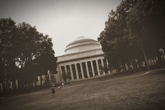 Massachusetts Institute Of Technology Mit Boston Massachussets Science School Building Architecture History Built Structure Old Old Buildings Retro Styled Shotononeplus5