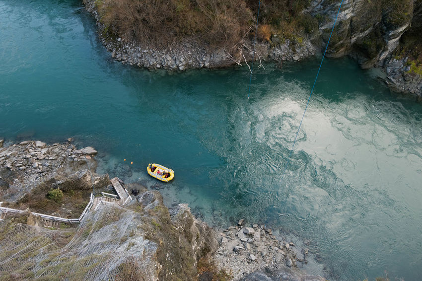 Beauty In Nature Day High Angle View Kawarau River Nature New Zealand No People Outdoors Rock - Object Sea Water Breathing Space The Week On EyeEm