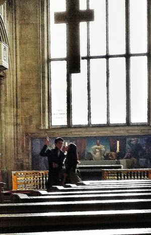 Friends All-Hallows-by-the-Tower Interior Anglican Church 675 London England Travelphotography Streetphotography