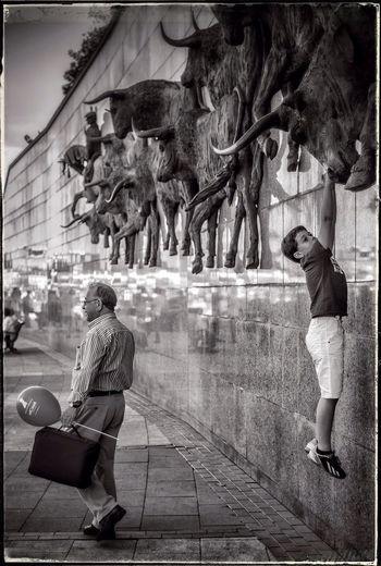 Black & White Finding The Next Vivian Maier just hanging around Plaza De Toros Madrid