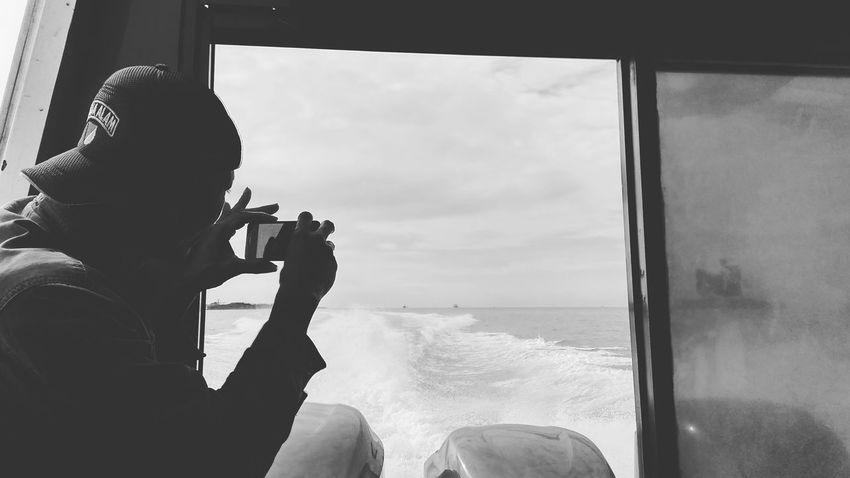 Capturing something Bw