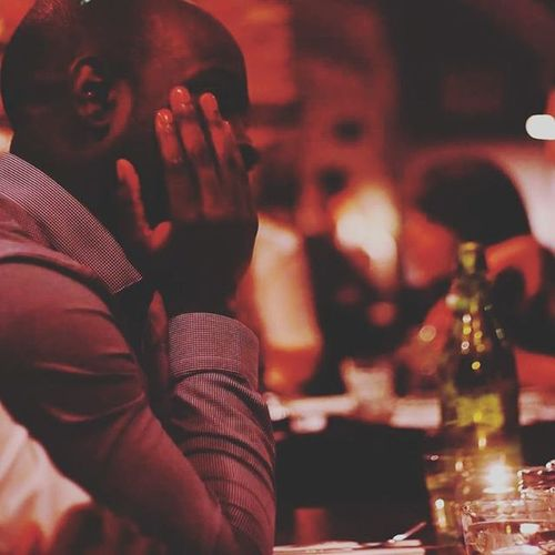 Ola Maninshirt Manatdinner Bottleofwine Restaurant Restaurantphotography Atmosphere Blackman Coventgarden
