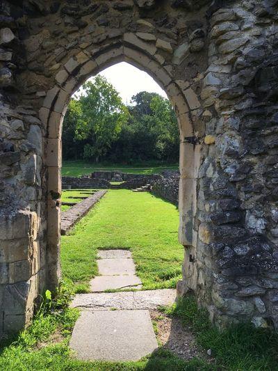 Doorway to History ... Lesnes Abbey ruins. LONDON❤ EyeEm Best Shots EyeEm Selects