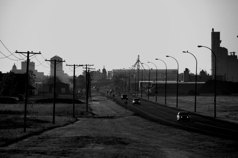 morning rush Cars City City Life Cityscape Coffee Run Hazey Landscape Moose Jaw, Sk Morning Rush Hour