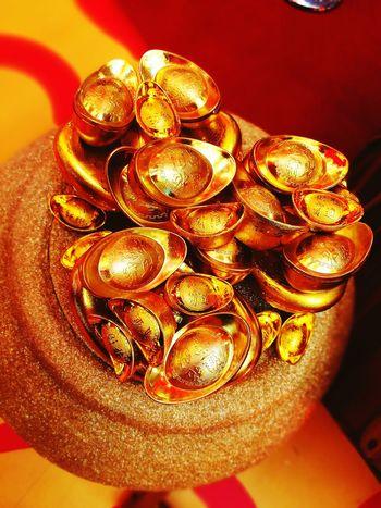 Gold Colored Celebration