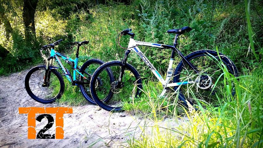 MTB MTB Downhill Biking Nature Vibrant Trail2Trail