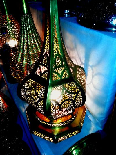 Moroccan Morocco_travel Memories Lampes Traditional Light Lights And Shadows