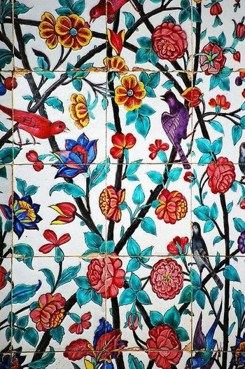 Butiful♥ Art Of Shiraz Painted tiles