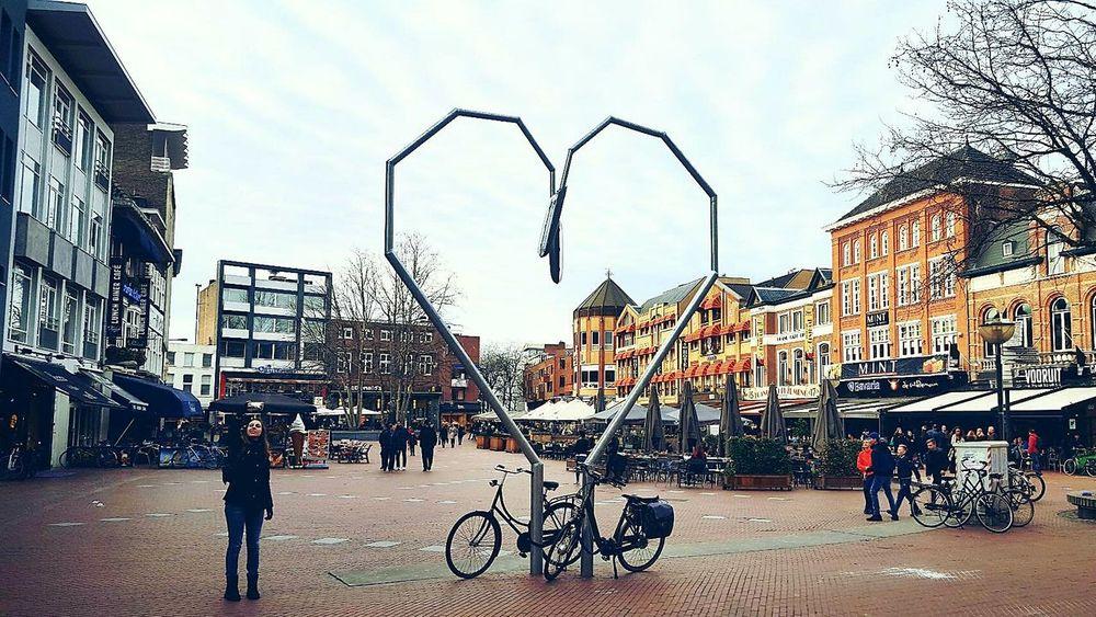 City Built Structure Building Exterior Sky Outdoors Architecture Day Holidays Eindhoven Centrum Love Bikes Love Love To Take Photos ❤ Best EyeEm Shot Showcase 2017 Best Shots EyeEm BestEdits Netherlands ❤ Vacations Showcase March