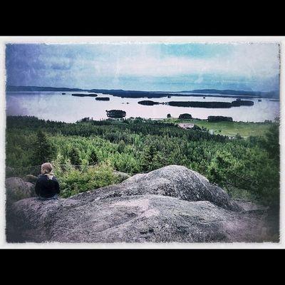 H älsingland - lika vackert som alltid i midsommartid Delsbo Fotose