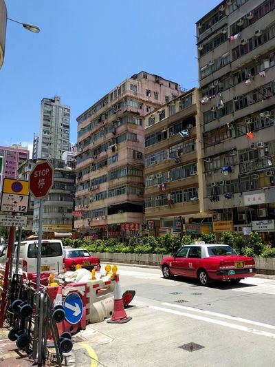 Hong Kong Cityscapes Urbanphotography Street Photography Cab Taxi Summer Trip