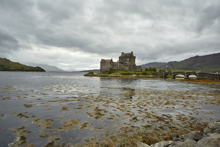 Architecture Water Built Structure History Sky The Past Building Exterior Cloud - Sky Castle Building Nature Travel Destinations Day Overcast Beauty In Nature Travel Tourism No People Outdoors Highlands Scotland Scottish Details Nature Wonderful Colors Orkneys